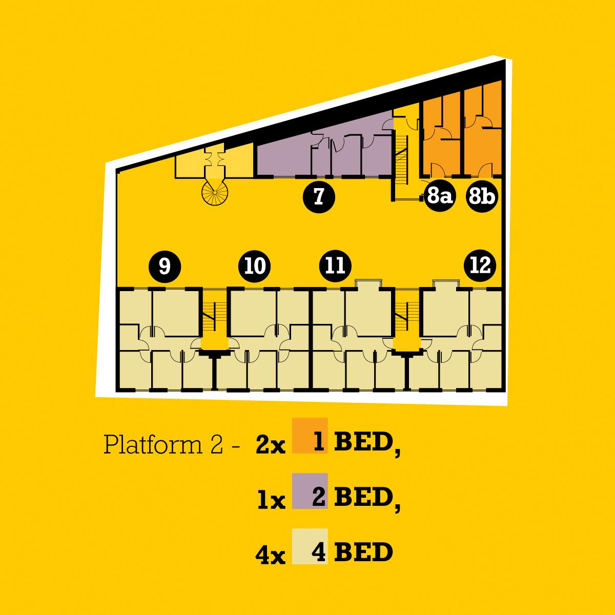 The Platform plans floor 2
