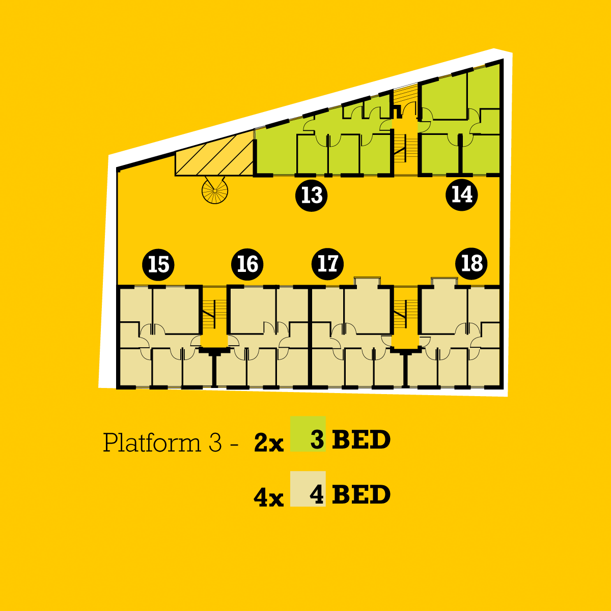 The Platform plans floor 3