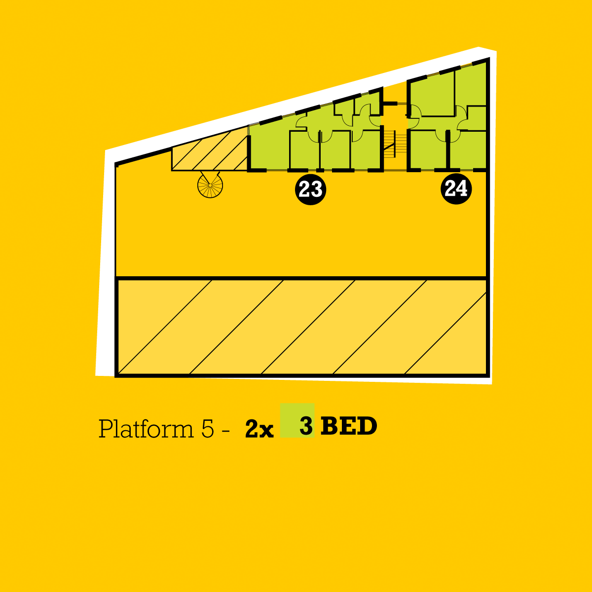 The Platform plans floor 5